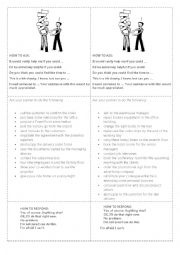 English Worksheet: Delegating tasks