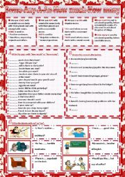 English Worksheet: some-any-a-an-how much-how many