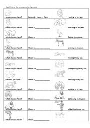 English Worksheet: Worksheet for the book