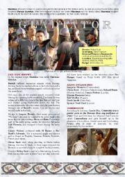 Gladiator  - opening scenes