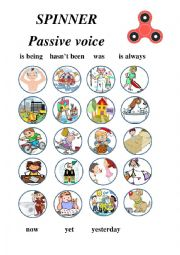 Spinner - Passive Voice - game
