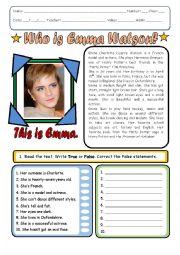 Emma Watson´s Biography