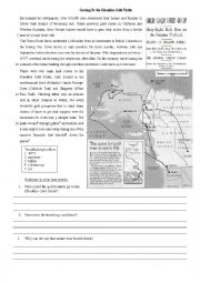English Worksheet: Klondike Gold rush