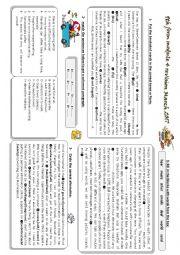 English Worksheet: services