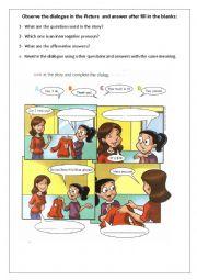 Prices and interrogative pronouns