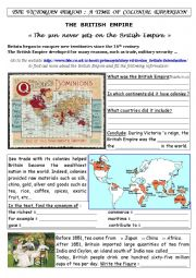Webquest The British Empire