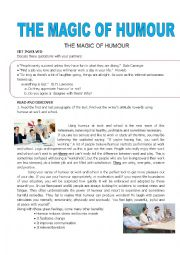 THE MAGIC OF HUMOUR