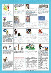 Scotland worksheets
