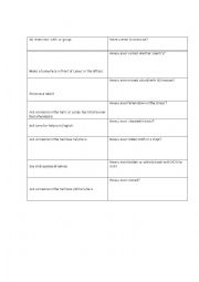 English Worksheet: game truth or dare