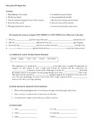 English Worksheet: Technical English