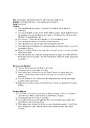 English Worksheet: Politics