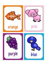 COLORS FLASHCARDS 2