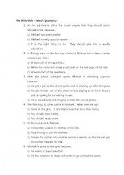 The Blind Side Worksheet