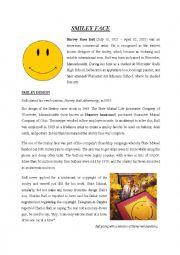 English Worksheet: Smiley Face (History)