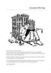 English Worksheet: Creative Writing Module