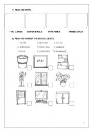 English Worksheet: 2nd grade review
