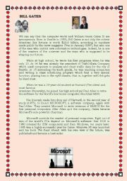 Reading Comprehension: Bill Gates