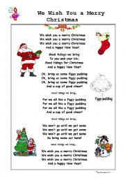 Christmas Song: We Wish You a Merry Christmas