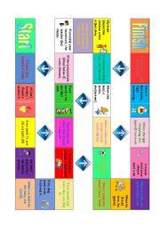 English Worksheet: Zero conditional - board game