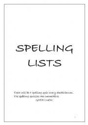 English Worksheet: Homophones Spelling