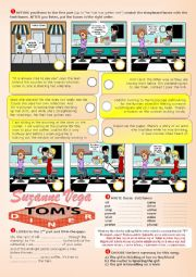 English worksheet: Suzanne Vega - Tom´s diner