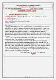 English Worksheet: E-mail