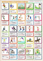 English Worksheet: Present Perfect or Present Perfect Continuous