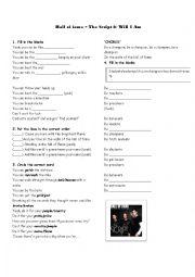 English Worksheet: hall of fame