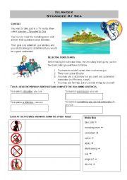 English Worksheet: Islander
