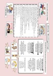 English Worksheet: types of bullying