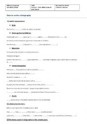 English Worksheet: unit1 lesson n�8 put a little drama in your travels