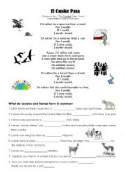 English Worksheet: