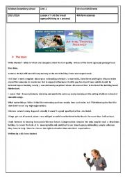 Travel agency:writing a letter of complaint