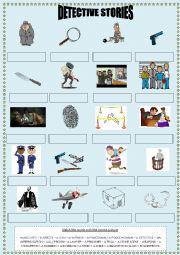 Detective stories Vocabulary