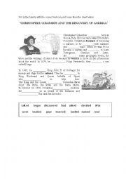 Columbus Day Fact File