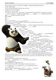 Panda Kung Fu 2 (PAST SIMPLE) Video