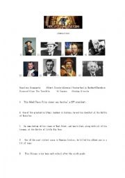 English Worksheet: Night At The Museum 2 Characters