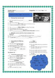 English Worksheet: Another day in paradise - Phil Collins (Song activity)