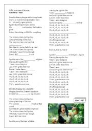 English worksheet: Fill in Gaps - Roar by Katy Perry