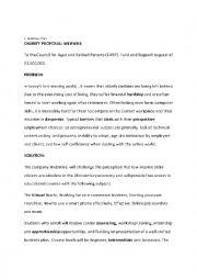 English Worksheet: TOEIC Lesson