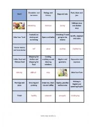 English Worksheet: Comparatives and Superlatives Board Game