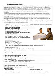 English Worksheet: Slumdog Millionaire_trailer, chase & Taj Mahal visit scenes