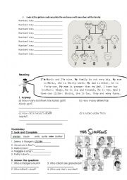 English Worksheet: happy street 2_ unit 2