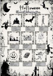 English Worksheet: Halloween vocabulary 1