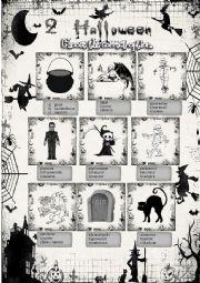 English Worksheet: halloween vocabulary 2