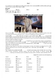 English Worksheet: Cambridge FCE mock exam 2 - Use of English