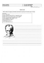 Writing about Atatürk