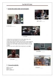 English Worksheet: Video Activity: 3 hilarious video commercials Part  2/3 with links, scripts and answer keys
