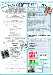 English Worksheet: Wannabe by The Spice Girls - Zero conditional