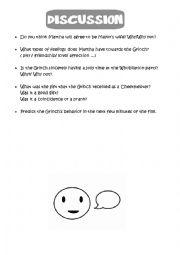 English Worksheet: the Grinch